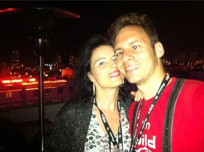 2013-03 Miami Beach Clevelander Danja und Bernie