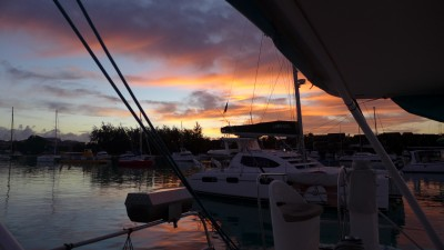 Mauritius Sailing with Dana and wild-25 Grand Baie