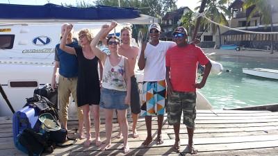 Mauritius Sailing with Dana and wild-27 Grand Baie
