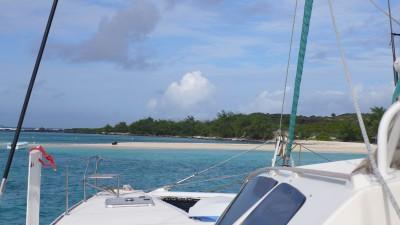 Mauritius Sailing with Dana and wild-9 Ile Gabriel